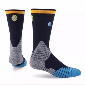 STANCE NBA Basketball Denver Nuggets crew socks